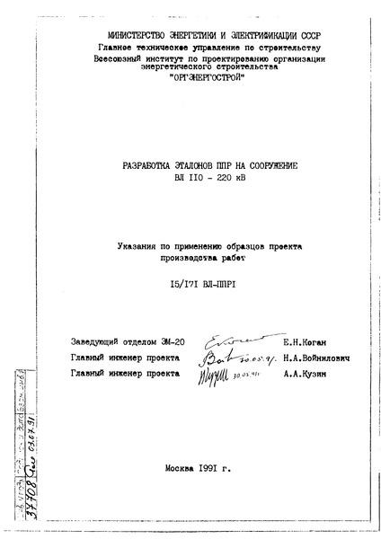 указание документ образец