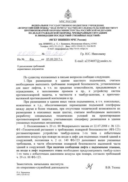Письмо 874-1-29-13-2 О разъяснении требований нормативных документов