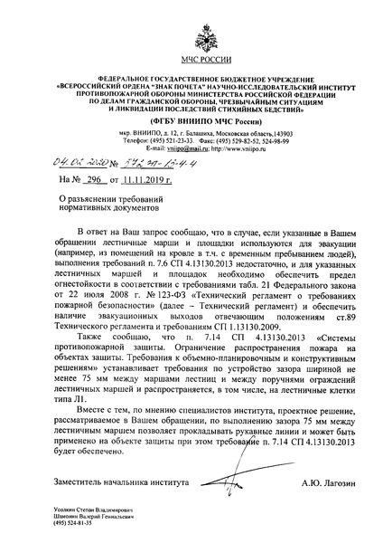 Письмо 572эп-13-4-4 О разъяснении требований нормативных документов