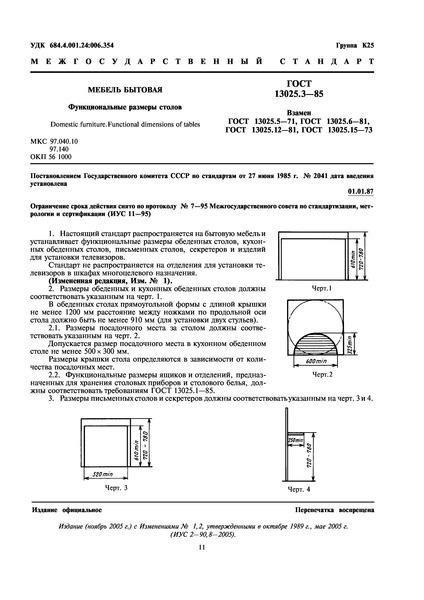 Обязательная сертификация (система ГОСТ Р). ГОСТ 13025.3-85 / Мебель бы